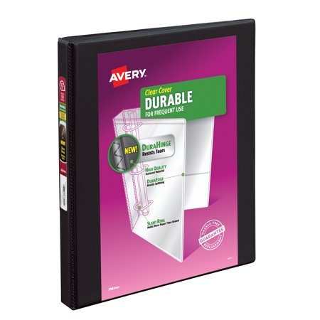 Avery 17001 Durable View Binder w/Slant Rings, 11 x 8 1/2, 1/2 inch,