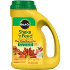how to use miracle gro shake n feed