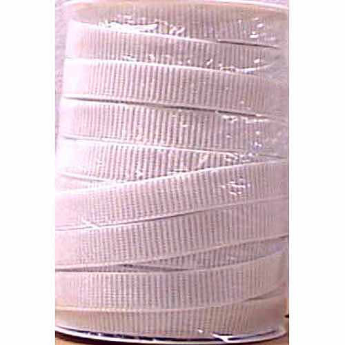 "Singer Non-Roll Ribbed Elastic, White 3/4"" x 45 yds"