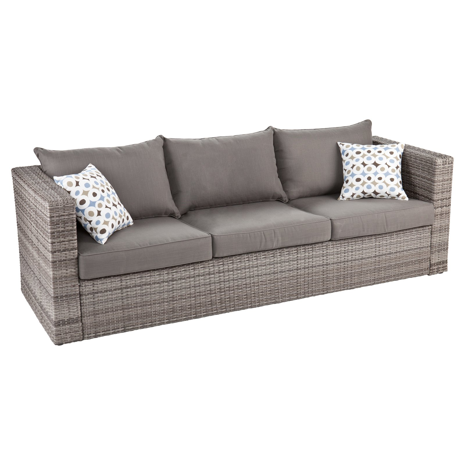 Southern Enterprises Talia Outdoor Deep Seating Sofa