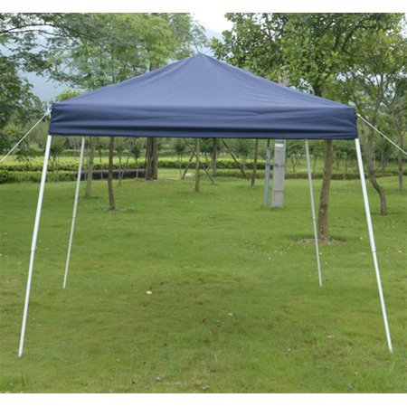 Outsunny 10' x 10' Slant Leg Easy Pop-Up Canopy Party Tent