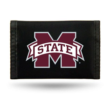 Mississippi State Bulldogs Wallet (Mississippi State Bulldogs Nylon Tri-Fold)
