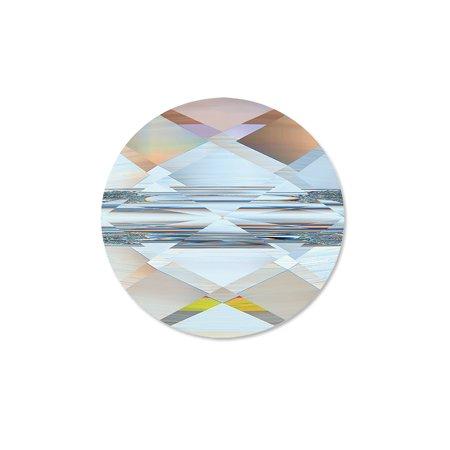 Swarovski Mini Round Bead 5052 Crystal Bead 8mm Crystal AB (Package of 1)