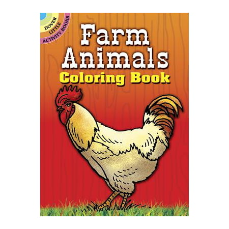 Farm Animals Coloring Book - Kid Friendly Halloween Coloring Pages