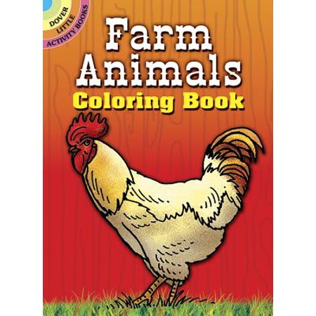 Farm Animals Coloring Book - Preschool Halloween Coloring Pages To Print