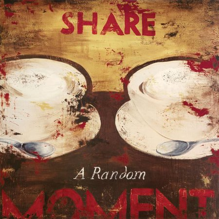 Rodney White ''Share a Random Moment'' by Rodney White Vintage Advertisement on Wrapped Canvas