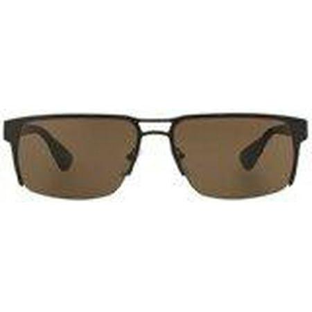 PR 52RS LAH8C1 - Matte Brown Prada 60-17-145 mm Sunglasses Men