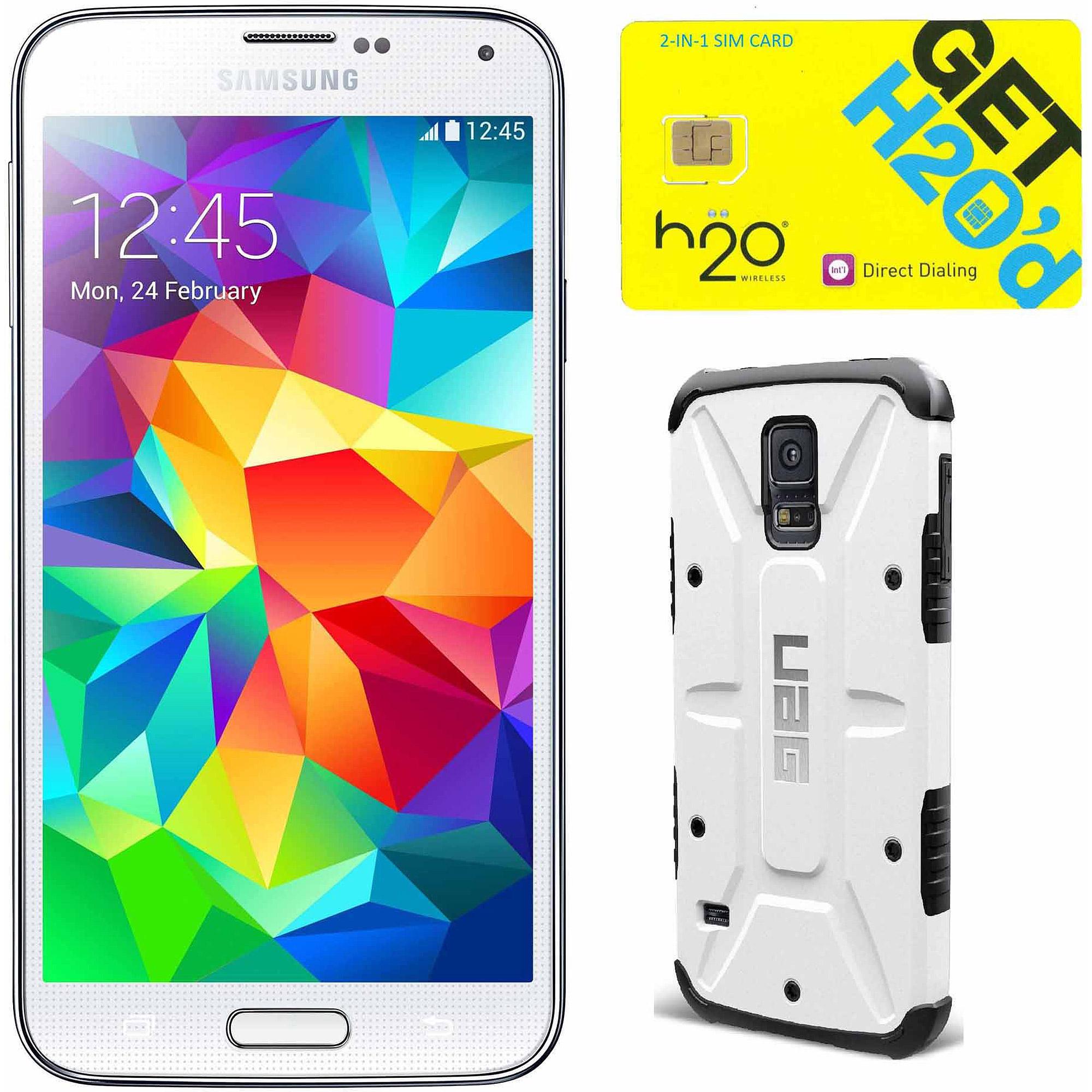 Samsung Galaxy S5 White Unlocked Gsm Pho