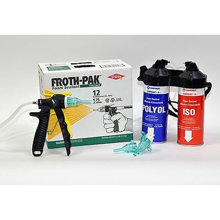 Froth Pak wk018 12 Spray Foam