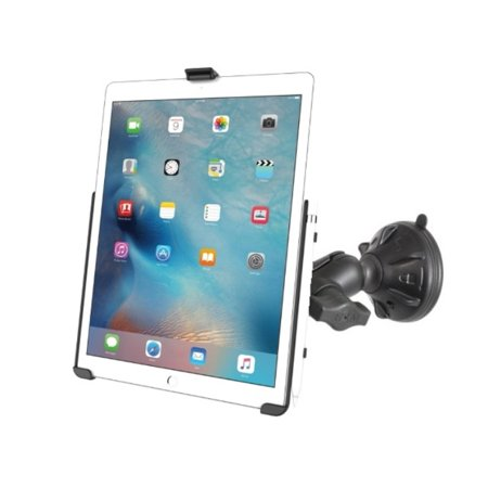 RAM Short Arm Suction Cup Windshield Mount Holder Kit for Apple iPad Pro 12.9