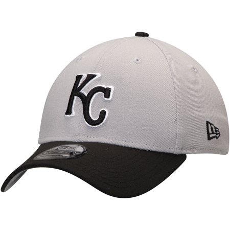 140a028c Kansas City Royals New Era Team Classic 39THIRTY Flex Hat - Gray/Black