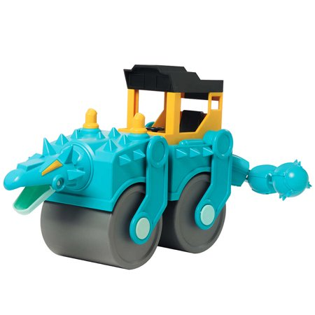 Educational Insights Dino Construction Company—Spike the Ankylosaurus Steam - Caterpillar Roller