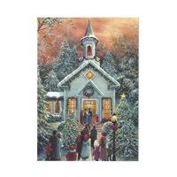 BestPysanky It's Christmas! Christmas Church Greeting Card