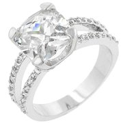 Icon Bijoux R07436R-C01-09 Pop Star Engagement Ring (Size: 09)