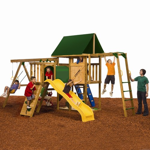 PlayStar Legend Ready-to-Assemble Silver Play Set