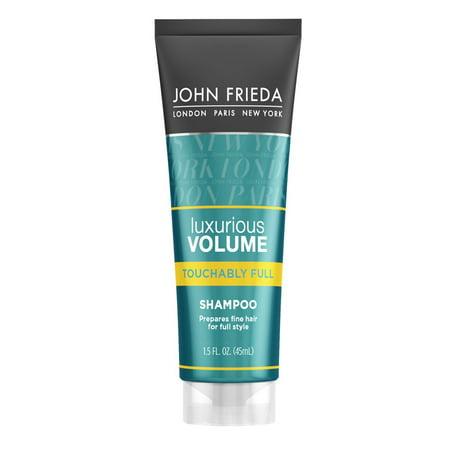 John Frieda Luxurious Volume Touchably Full Shampoo, 8.45