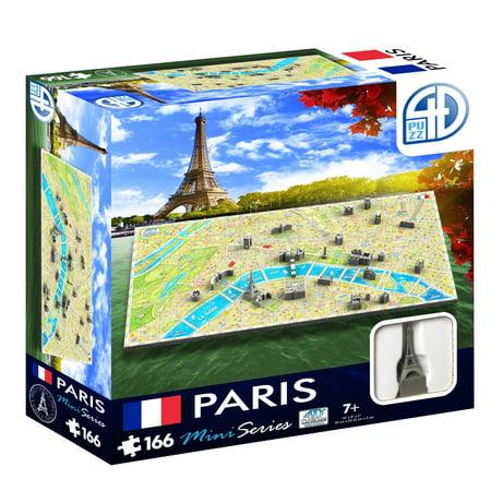 4D Cityscape Mini Puzzle (166 Piece), Paris - image 2 of 6