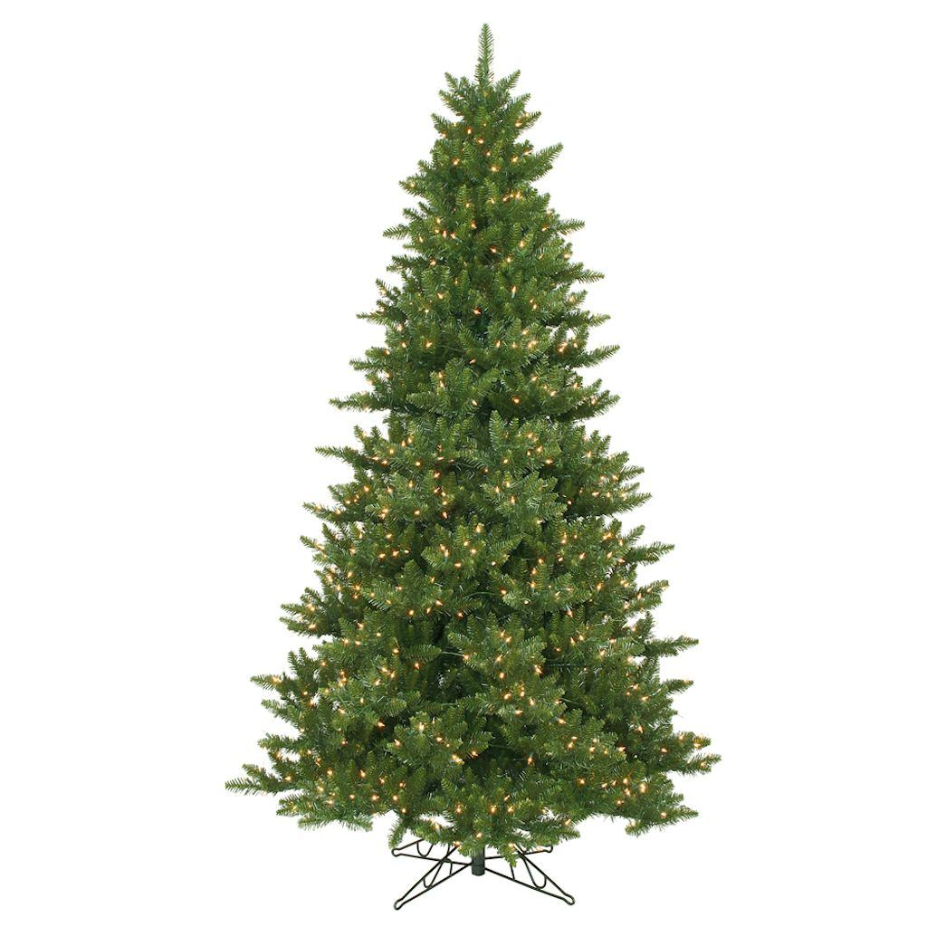 "Vickerman 10934 - 12' x 80"" Camdon Fir 2100 Clear DuraLit Lights Christmas Tree (A860991)"