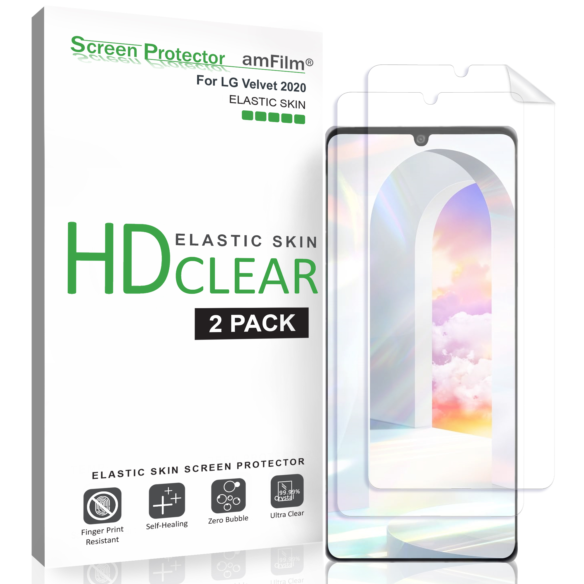 Not Tempered Glass 【3 Pack】 Synvy Screen Protector for BLU C5L TPU Flexible HD Film Protective Protectors New Version
