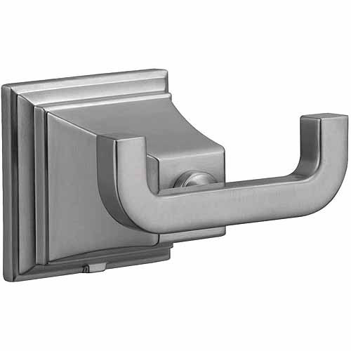 Design House 560433 Torino Double Robe Hook, Satin Nickel Finish by Generic