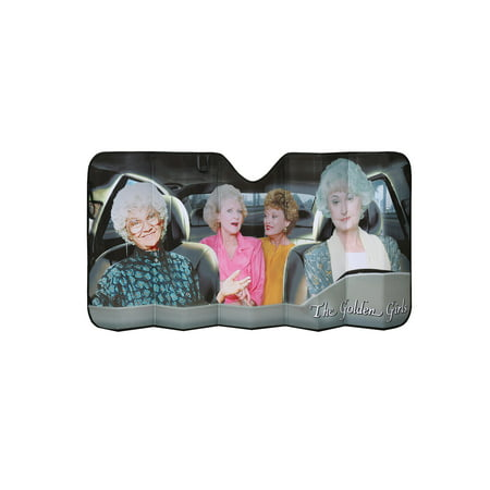 Just Funky Golden Girls Car Windshield Sun Shade - Funny Car Windshield Screen Sun
