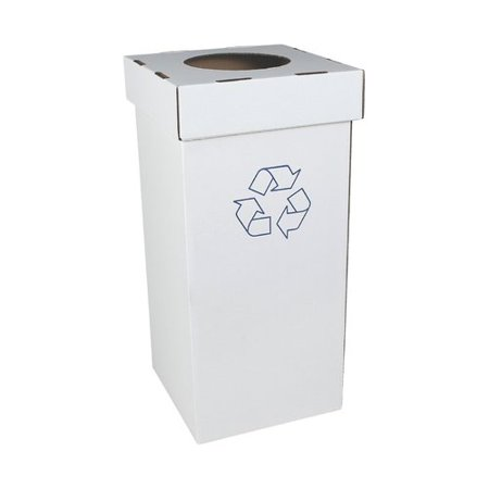 Busch Systems Cardboard Series Corrugated 28 Gallon Recycling Bin (Set of 10)
