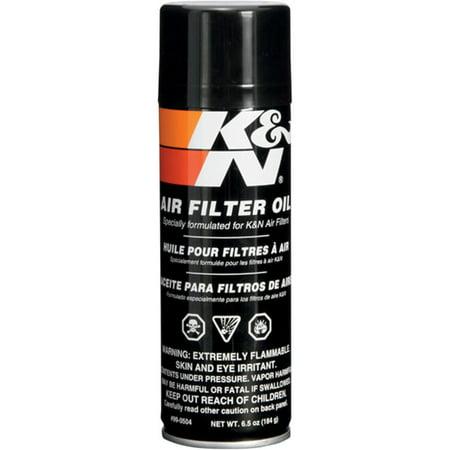K&N Engineering 99-0504 Air Filter Oil - 6.5oz. Aerosol Can