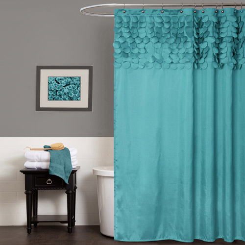Lillian Shower Curtain by Lush Decor