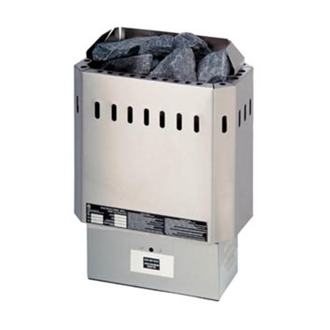 SaunaCore KW6ULT 6000 Watts Single Phase Heater Ultimate Residential Stove, 25 Amps