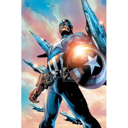 Avengers Assemble Style Guide: Captain America Poster Wall Art
