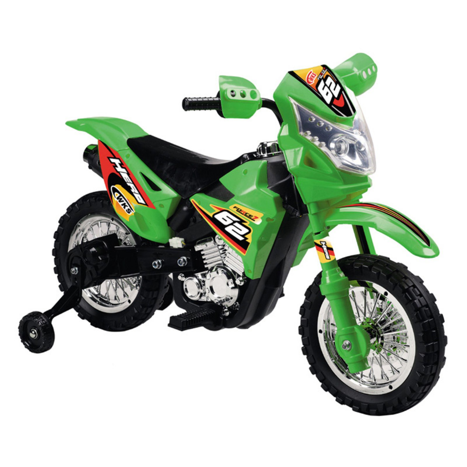 Vroom Rider Dirt Bike Motorcycle Battery Powered Riding Toy Orange by Overstock