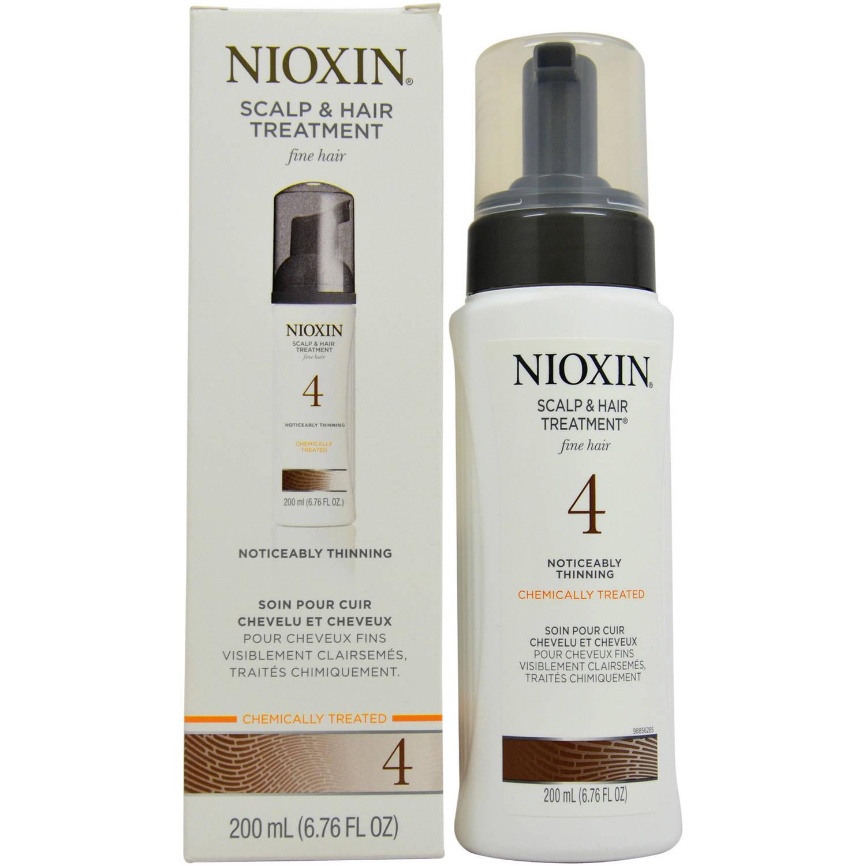 System 4 Scalp & Hair Treatment For Fine Hair Chemically Treated by Nioxin for Unisex, 6.76 oz
