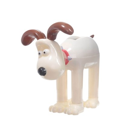 Puckator Wallace and Gromit Plastic Figurine - Animated Solar Powered Pal - Novelty Collectible Item - Gromit - Novelty Item