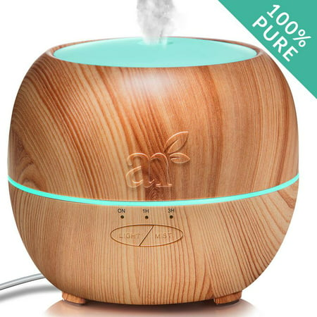 Ultrasonic Aromatherapy Essential Oil Diffuser Humidifier 150mL - Auto Shut