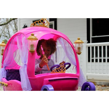 Best 24 Volt Disney Princess Carriage Ride-On for Girls by Dynacraft deal