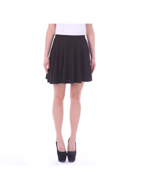 Product Image HDE Women s Jersey Knit Flare A Line Pleated Circle Skater  Skirt (Black 3b73983d8