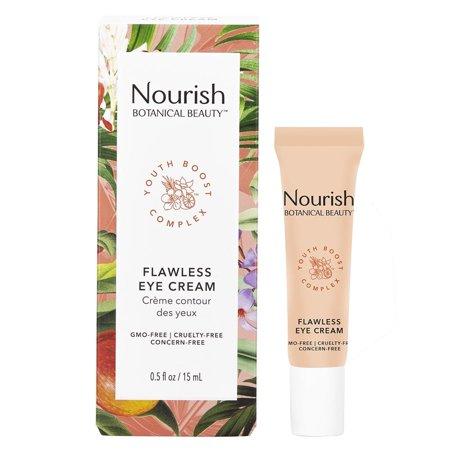 Nourish Organics Botanical Beauty Flawless Eye Cream 0.5 Fl Oz Skincare 235481 (Forever Flawless Diamond Infused Skin Care Reviews)