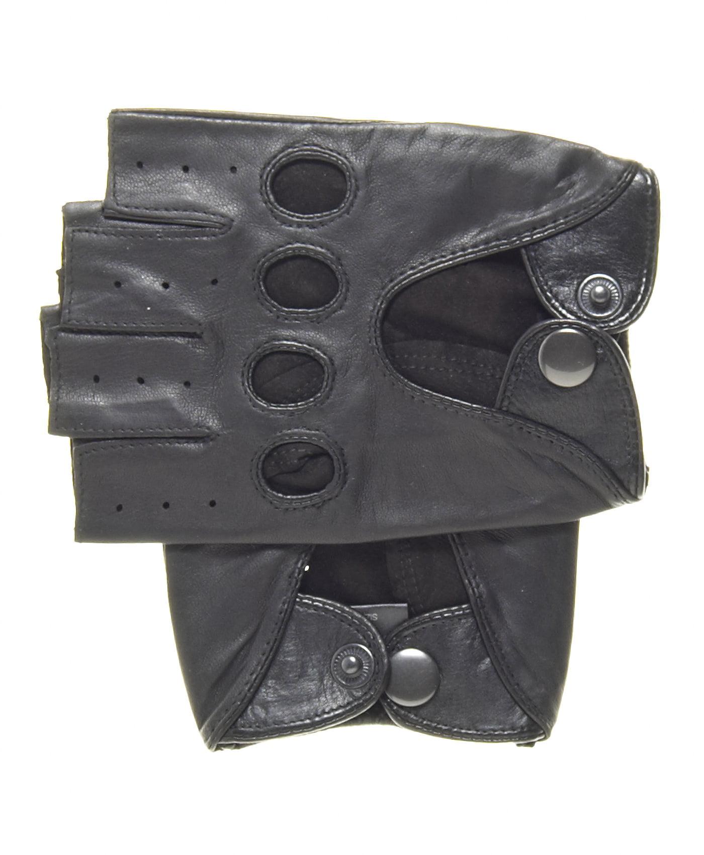 Driving gloves johannesburg - Pratt And Hart Men S Shorty Leather Driving Gloves Fingerless