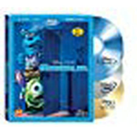 Monsters, Inc. (Four-Disc Blu-ray/DVD Combo + Digital Copy)
