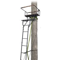 Realtree 15-ft Two-man Ladderstand w/Jaw System Deals