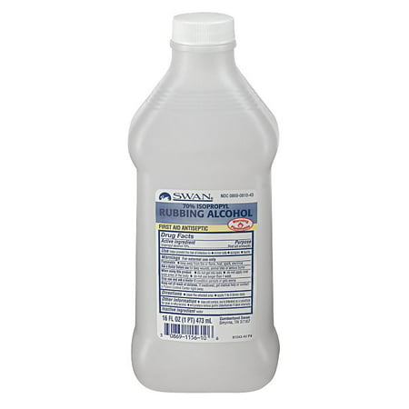 Medique Isopropyl Rubbing Alcohol, 16 oz. Bottle -