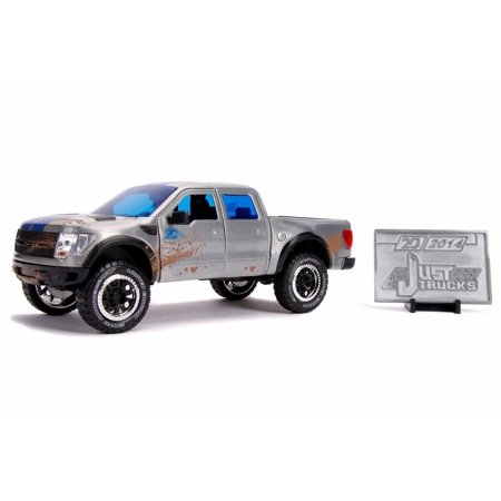 2011 Ford F-150 SVT Raptor Pick Up Truck with Diecast Mosaic Tile, 20th Anniversary - Jada 31086 - 1/24 scale Diecast Model Toy Car -  ModelToyCars