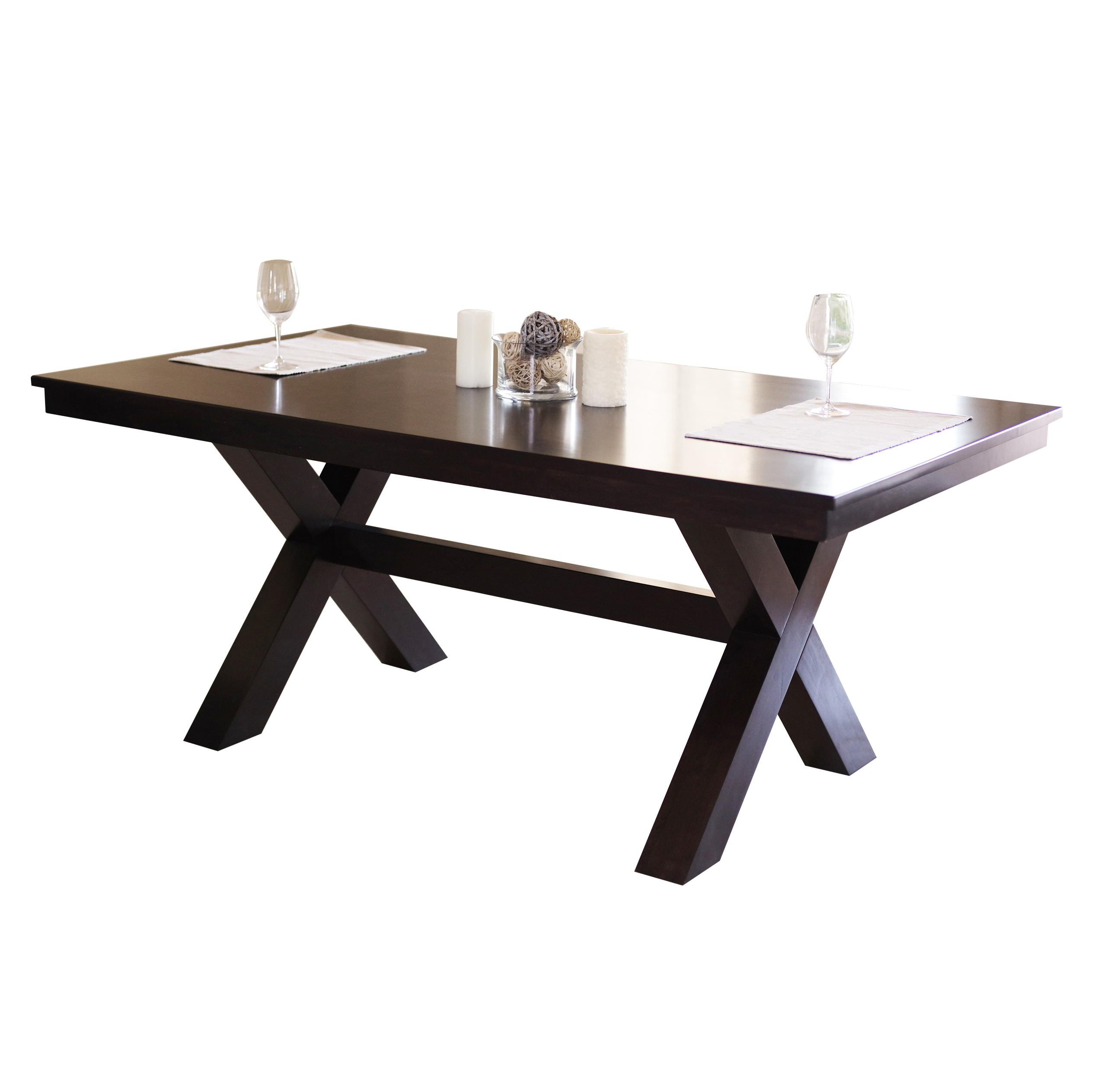 Devon & Claire Natasha Espresso Dining Table by Devon & Claire
