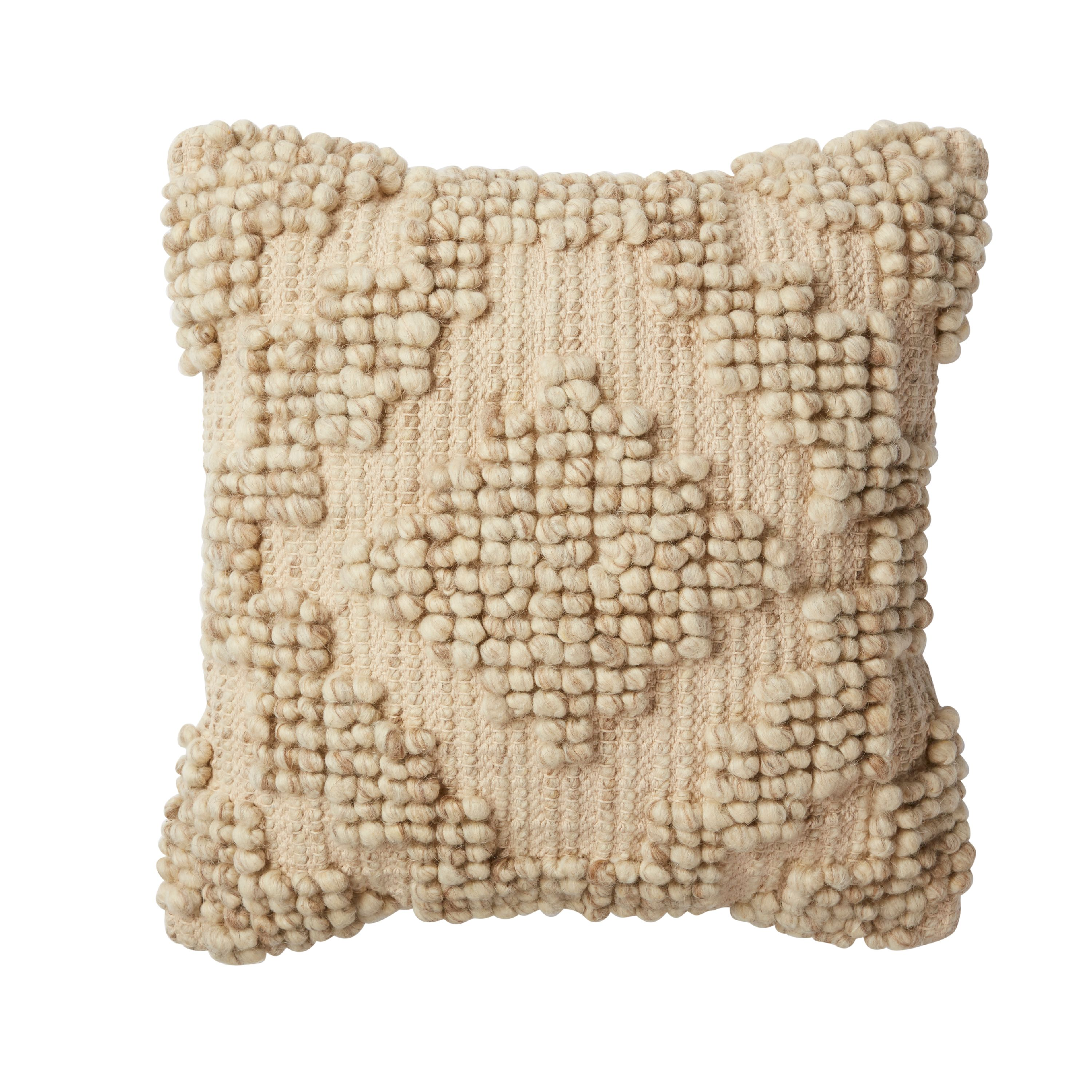 Better Homes and Gardens Aztec Cream Decorative Pillow