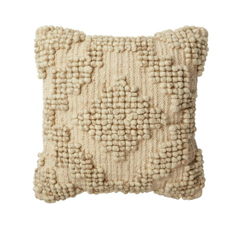 Better Homes and Gardens Aztec Cream Decorative Pillow ()