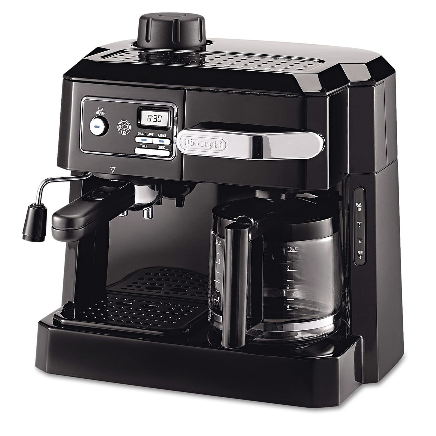 delonghi bco320t combination machine blacksilver