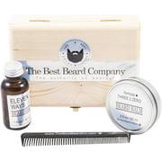 The Best Beard Company Premium Beard Grooming Kit, 4 pc