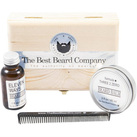 the best beard company premium beard grooming kit 4 pc. Black Bedroom Furniture Sets. Home Design Ideas