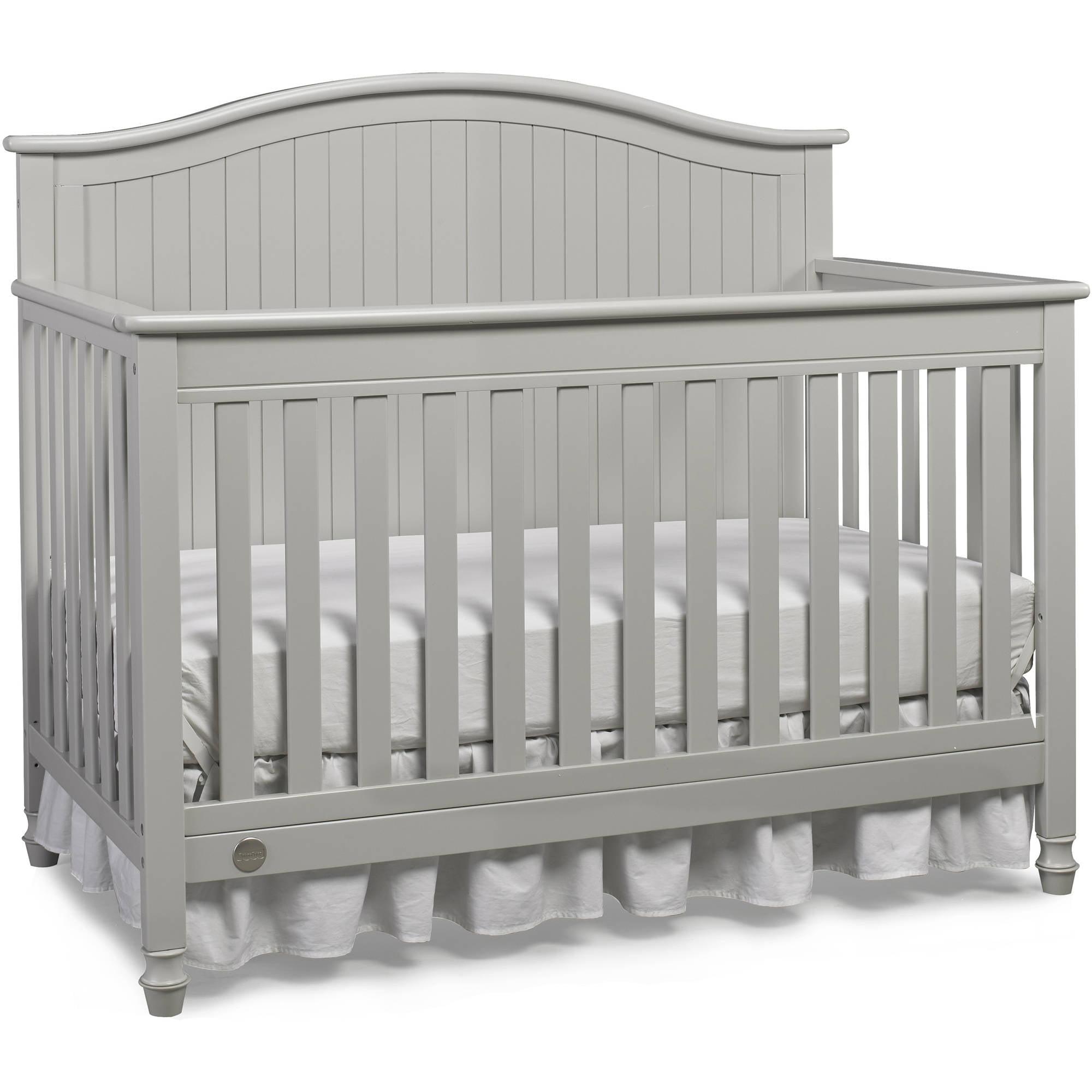 Fisher-Price Delmar 4-in-1 Convertible Crib Gray
