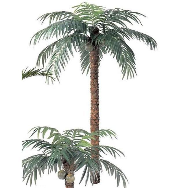 Autograph Foliages P-297 - 12 Foot Coconut Palm Tree - Green